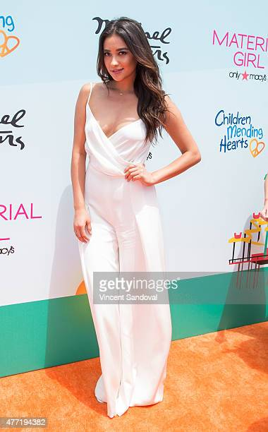Actress Shay Mitchell attends Children Mending Heart's 7th Annual Empathy Rocks fundraiser on June 14 2015 in Malibu California