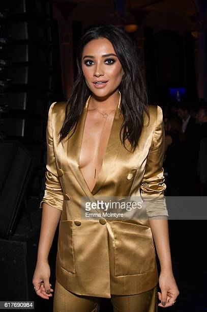 Actress Shay Mitchell attends the 12th Annual Outfest Legacy Awards at Vibiana on October 23 2016 in Los Angeles California