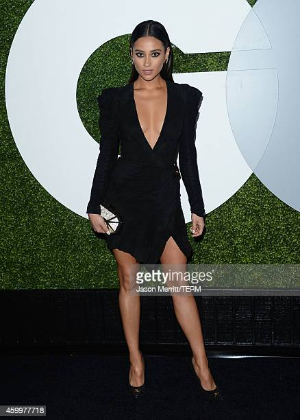 Actress Shay Mitchell attends the 2014 GQ Men Of The Year party at Chateau Marmont on December 4 2014 in Los Angeles California