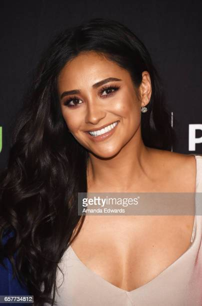 Actress Shay Mitchell attends The Paley Center For Media's 34th Annual PaleyFest Los Angeles 'Pretty Little Liars' screening and panel at the Dolby...