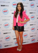 Actress Shay Mitchell attends the Teen Vogue National Shopping Holiday BackToSchool Saturday at The Grove on August 11 2012 in Los Angeles California