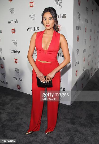 Actress Shay Mitchell attends Vanity Fair and FIAT celebration of Young Hollywood hosted by Krista Smith and James Corden to benefit the Terrence...