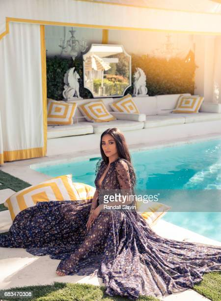 Actress Shay Mitchell is photographed for Ocean Drive Magazine on March 26 2017 in Hollywood California ON DOMESTIC EMBARGO UNTIL AUGUST 1 2017 ON...