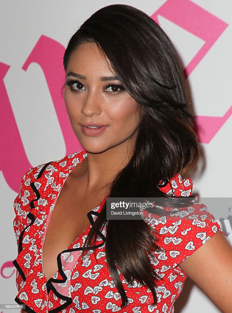 Actress Shay Mitchell launches Juicy Couture's 'Couture La La' fragrance at Juicy Couture on January 30, 2013 in Beverly Hills, California.