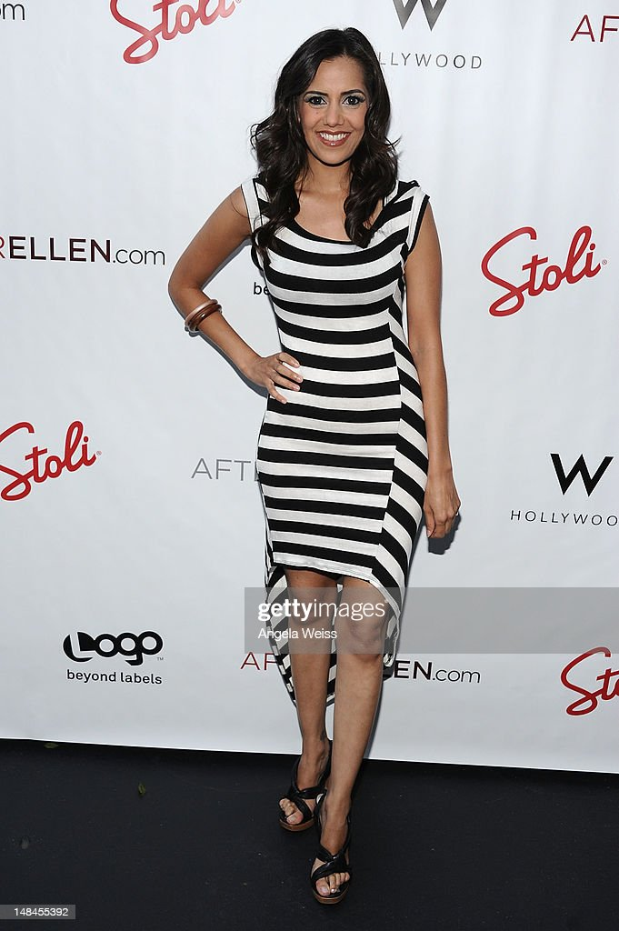 Actress Sheetal Sheth attends Logo's AfterEllen & AfterElton Inaugural 'Hot 100 Party' at Station Hollywood at W Hollywood Hotel on July 16, 2012 in Hollywood, California.