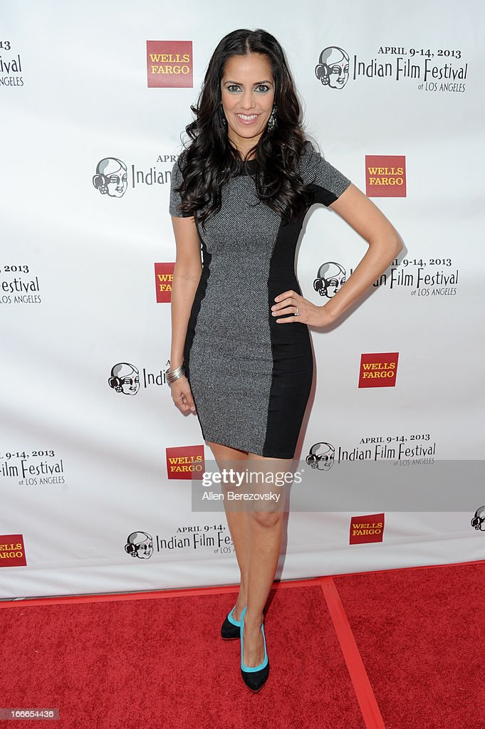 Actress Sheetal Sheth attends the 11th Annual Indian Film Festival of Los Angeles Closing Night Gala premiere of 'Midnight's Children' at ArcLight Hollywood on April 14, 2013 in Hollywood, California.