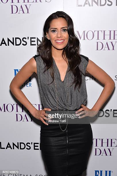 Actress Sheetal Sheth attends The Cinema Society with Lands' End host a screening of Open Road Films' 'Mother's Day' on April 28 2016 in New York City