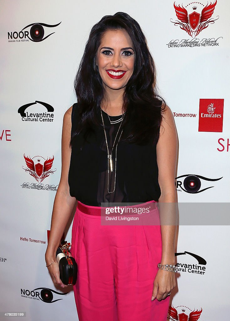 Actress <a gi-track='captionPersonalityLinkClicked' href=/galleries/search?phrase=Sheetal+Sheth&family=editorial&specificpeople=664615 ng-click='$event.stopPropagation()'>Sheetal Sheth</a> attends the premiere of Sideshow Releasing's 'Shirin In Love' at Avalon on March 11, 2014 in Hollywood, California.