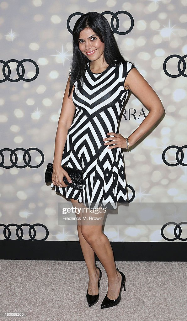 Actress Sheila Shah attends Audi and Altuzarra's Primetime Emmy Awards Week 2013 Kick-Off Party at Cecconi's Restaurant on September 15, 2013 in Los Angeles, California.
