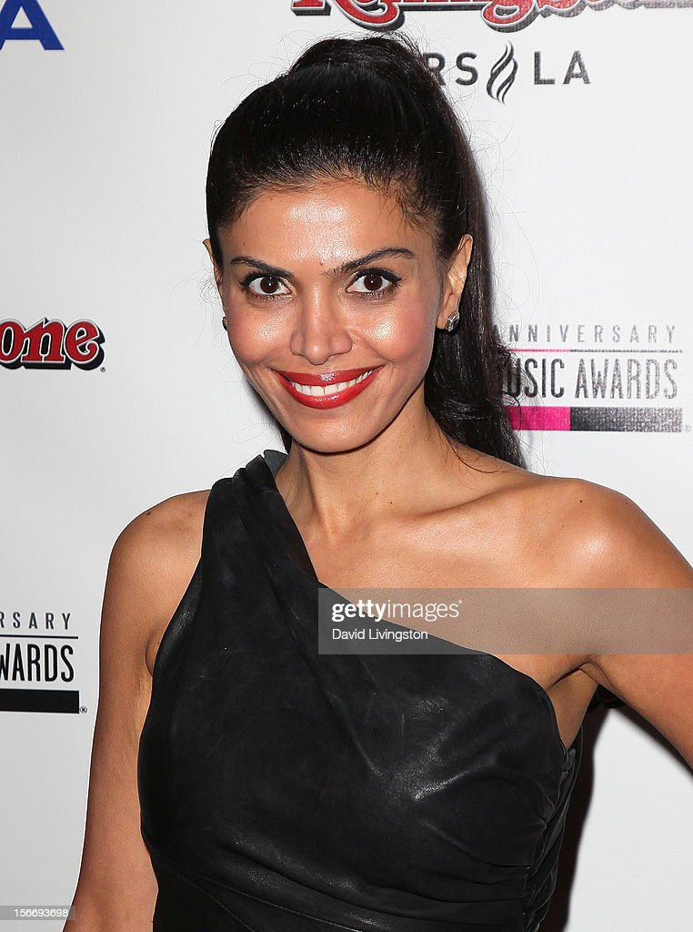 Actress Sheila Shah attends Rolling Stone Magazine's 2012 American Music Awards (AMAs) VIP After Party presented by Nokia and Rdio at the Rolling Stone Restaurant and Lounge on November 18, 2012 in Los Angeles, California.