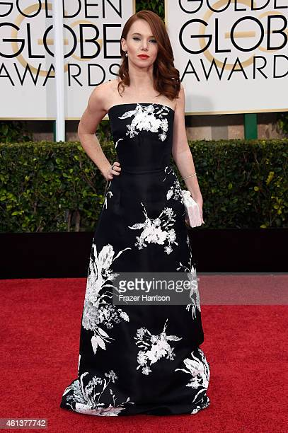Actress Shelby Steel attends the 72nd Annual Golden Globe Awards at The Beverly Hilton Hotel on January 11 2015 in Beverly Hills California