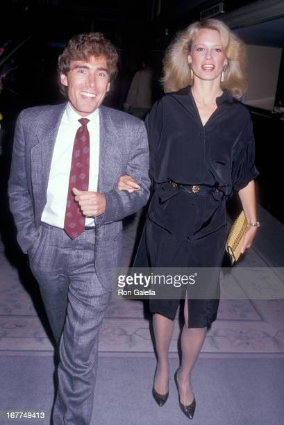 Actress Shelley Hack and husband Harry Winer attend the Liberty Hill Foundation's Fifth Annual Upton Sinclair Awards on May 21 1987 at the Beverly...