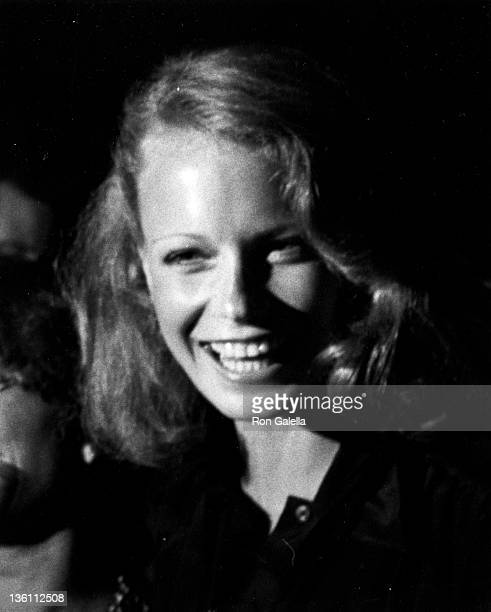 Actress Shelley Hack attends the birthday party for Bella Abzug on July 25 1977 at Studio 54 in New York City