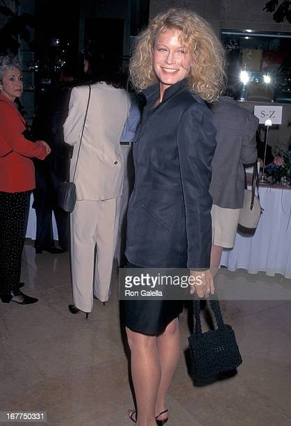 Actress Shelley Hack attends the Liberty Hill Foundation's 14th Annual Upton Sinclair Awards on May 21 1996 at the Beverly Hilton Hotel in Beverly...