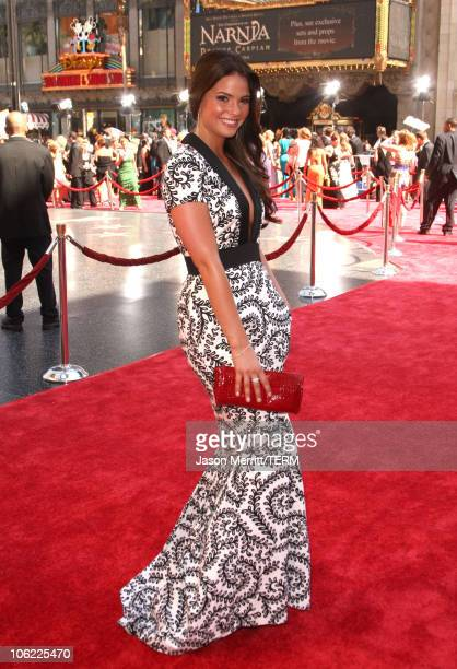 Actress Shelley Hennig arrives to The 35th Annual Daytime Emmy Awards at the Kodak Theatre on June 20 2008 in Los Angeles California