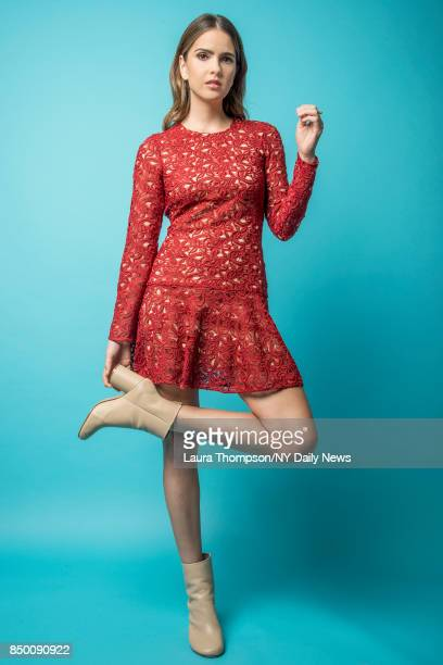 Actress Shelley Hennig is photographed for NY Daily News on October 8 2016 at Comic Con in New York City CREDIT MUST READ Laura Thompson/New York...