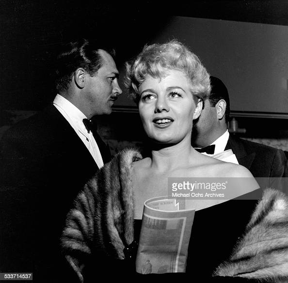 Actress Shelley Winters attends an event in Los AngelesCA