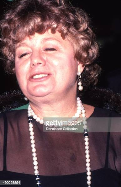 Actress Shelley Winters attends an event in October 1979 in Los Angeles California