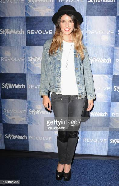 Actress Shenae Grimes arrives at the People StyleWatch 4th Annual Denim Awards Issue at The Line on September 18 2014 in Los Angeles California