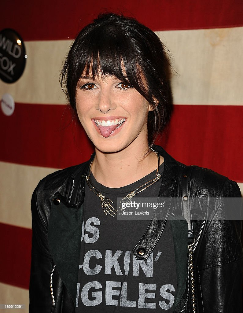 Actress Shenae Grimes attends Nylon Magazine's 'America The Issue' celebration at Sunset Marquis Hotel & Villas on November 1, 2013 in West Hollywood, California.