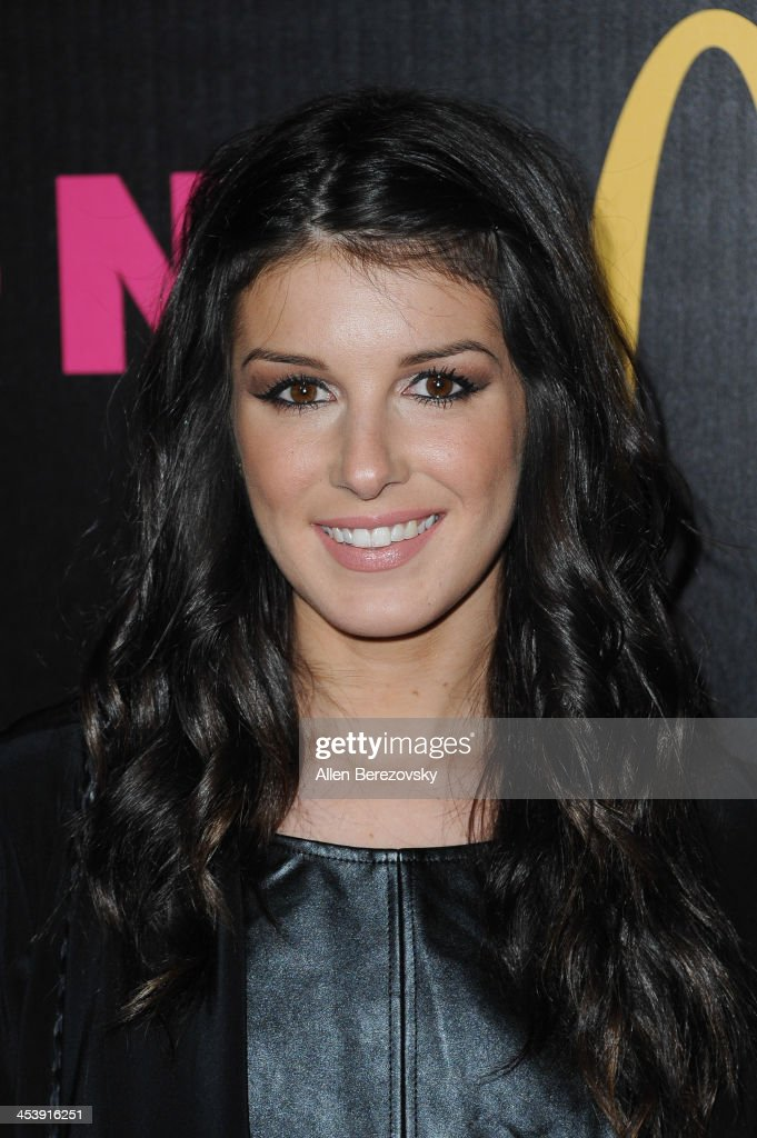 Actress <a gi-track='captionPersonalityLinkClicked' href=/galleries/search?phrase=Shenae+Grimes&family=editorial&specificpeople=2153141 ng-click='$event.stopPropagation()'>Shenae Grimes</a> attends NYLON Magazine's December Issue Celebration featuring cover star Demi Lovato at Smashbox West Hollywood on December 5, 2013 in West Hollywood, California.