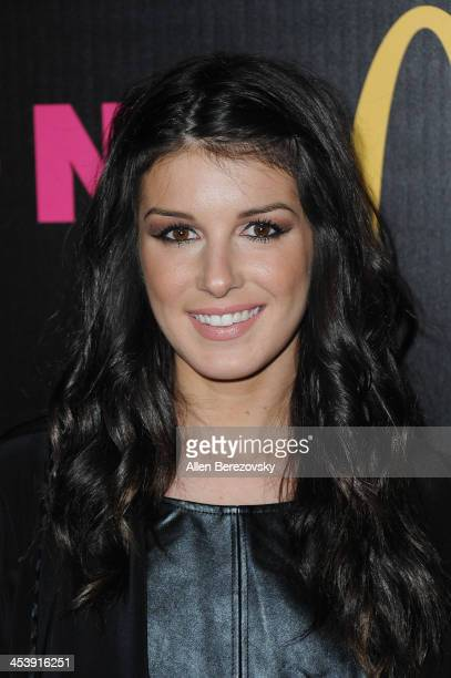 Actress Shenae Grimes attends NYLON Magazine's December Issue Celebration featuring cover star Demi Lovato at Smashbox West Hollywood on December 5...