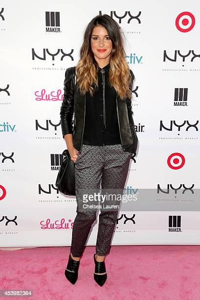 Actress Shenae Grimes attends NYX FACE Awards 2014 Presented by NYX Cosmetics at Club Nokia on August 22 2014 in Los Angeles California