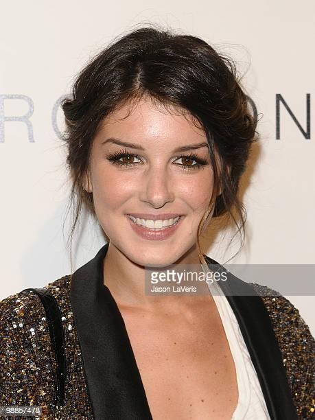 Actress Shenae Grimes attends the Charlotte Ronson and JCPenney spring cocktail jam at Milk Studios on May 4 2010 in Hollywood California