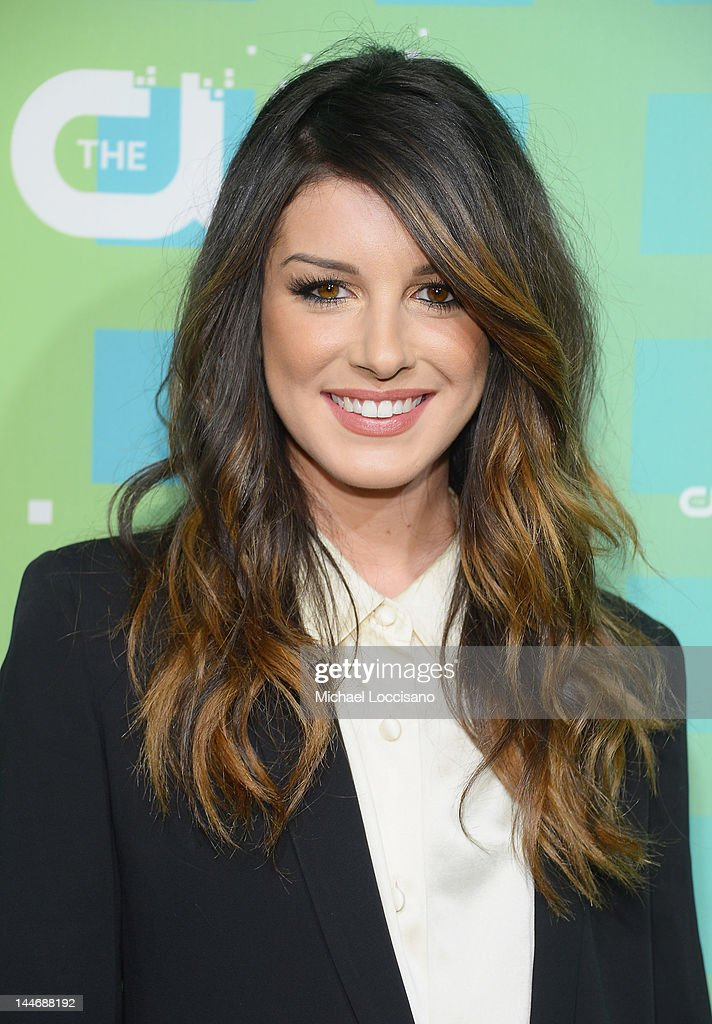 Actress Shenae Grimes attends The CW Network's New York 2012 Upfront at New York City Center on May 17, 2012 in New York City.