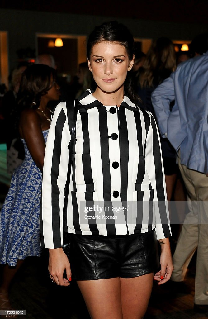 Actress Shenae Grimes attends the InStyle Summer Soiree held Poolside at the Mondrian hotel on August 14, 2013 in West Hollywood, California.