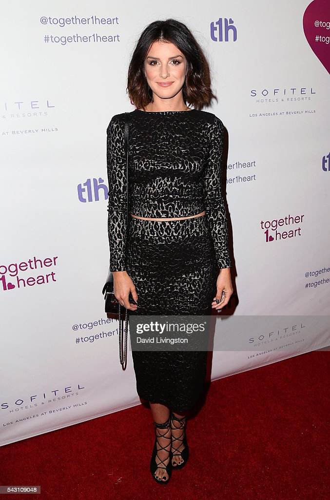 Actress Shenae Grimes-Beech attends together1heart launch party hosted by AnnaLynne McCord at Sofitel Hotel on June 25, 2016 in Los Angeles, California.