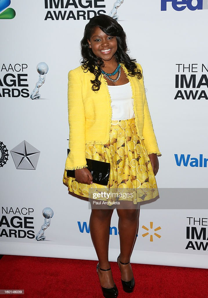 Actress Shenell Edmonds attends the 44th NAACP Image Awards nominee's luncheon on January 26, 2013 in Beverly Hills, California.