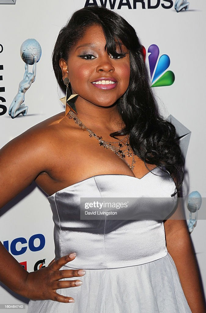 Actress Shenell Edmonds attends the NAACP Image Awards Pre-Gala at Vibiana on January 31, 2013 in Los Angeles, California.