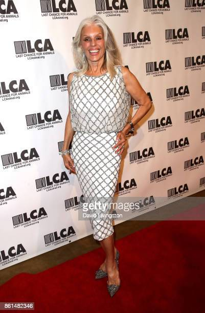 Actress Shera Danese attends Last Chance for Animals 33rd Annual Celebrity Benefit Gala at The Beverly Hilton Hotel on October 14 2017 in Beverly...