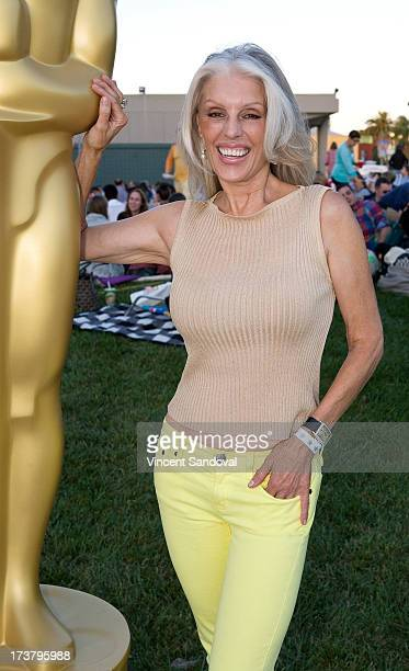 Actress Shera Danese attends The Academy Of Motion Picture Arts and Sciences' Oscars Outdoors screening of 'Risky Business' at Oscars Outdoors on...