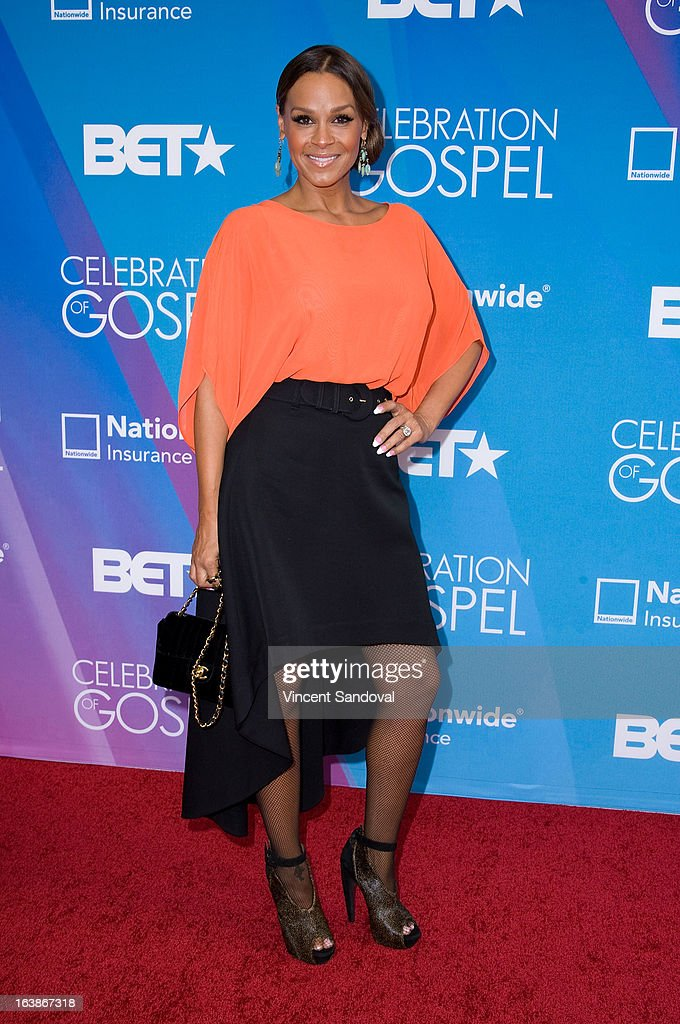Actress Sheree Fletcher attends the BET 13th annual 'Celebration Of Gospel' at Orpheum Theatre on March 16, 2013 in Los Angeles, California.