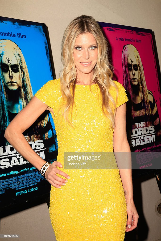 Actress <a gi-track='captionPersonalityLinkClicked' href=/galleries/search?phrase=Sheri+Moon&family=editorial&specificpeople=2360728 ng-click='$event.stopPropagation()'>Sheri Moon</a> Zombie arrives at Rob Zombie's 'The Lords Of Salem' Los Angeles Premiere at AMC Burbank 16 on April 18, 2013 in Burbank, California.