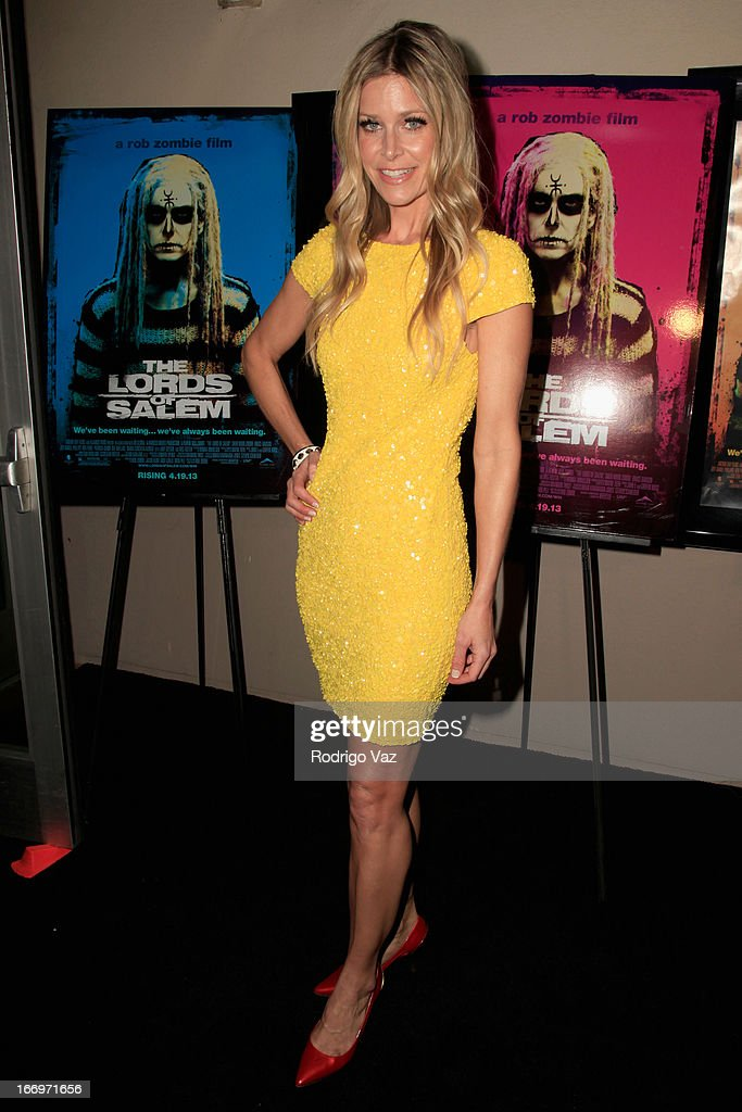 Actress Sheri Moon Zombie arrives at Rob Zombie's 'The Lords Of Salem' Los Angeles Premiere at AMC Burbank 16 on April 18, 2013 in Burbank, California.