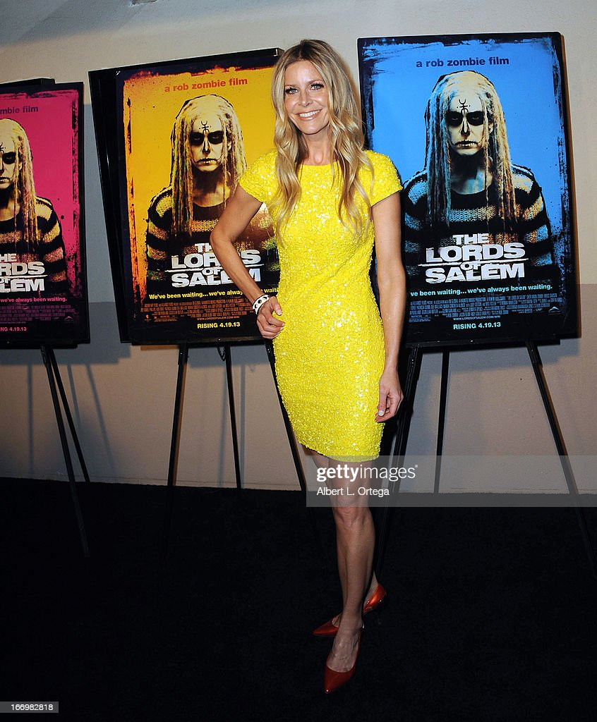 Actress Sheri Moon Zombie arrives for Fan Screening Of Anchor Bay Films' Rob Zombie's 'The Lords Of Salem' - Arrivalsheld at AMC Burbank 16 on April 18, 2013 in Burbank, California.
