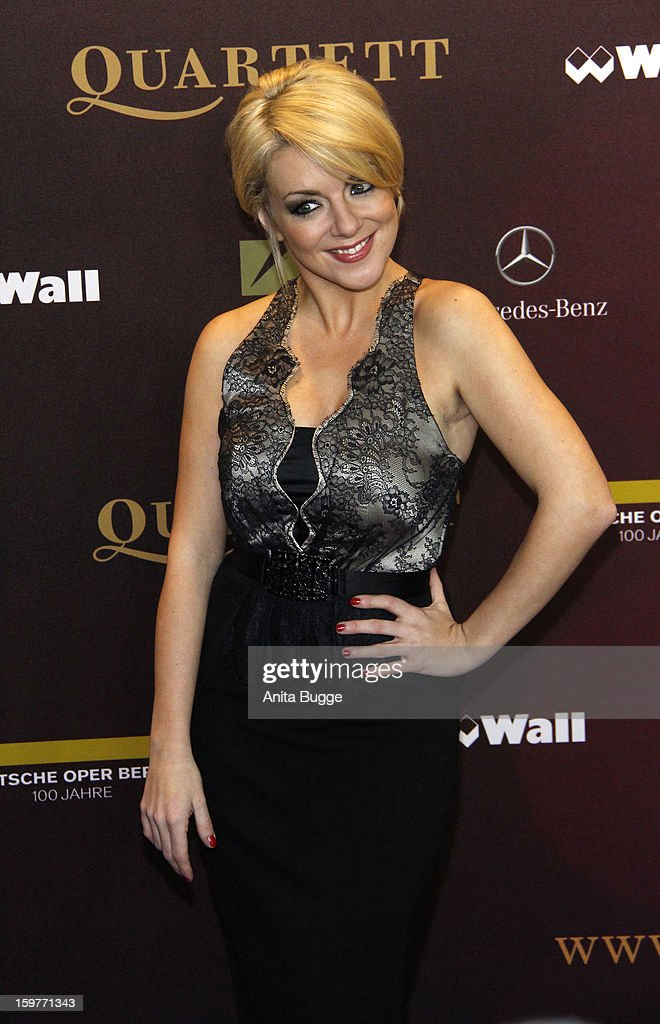 Actress Sheridan Smith attends the 'Quartet' Berlin Photocall at Deutsche Oper on January 20, 2013 in Berlin, Germany.