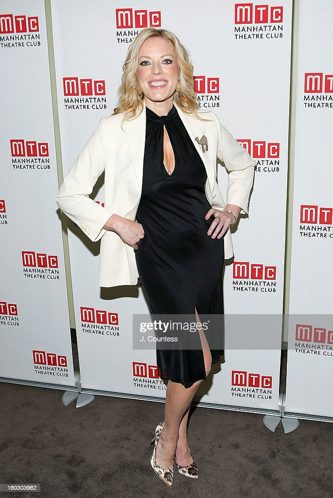 Actress Sherie Rene Scott attends the 2012 Manhattan Theatre Club Benefit: An Intimate Night at Jazz at Lincoln Center on January 28, 2013 in New York City.
