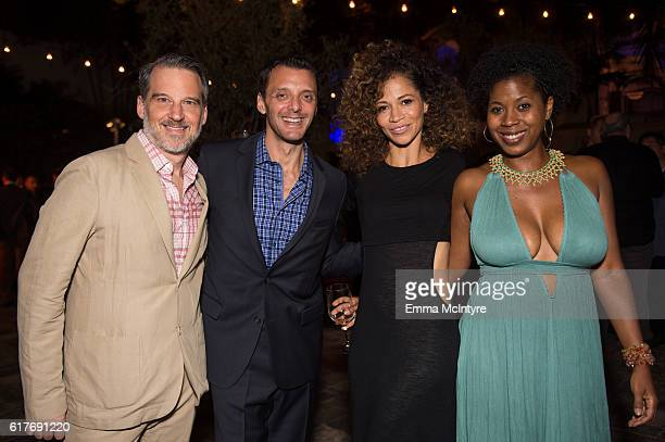 Actress Sherri Saum and guests attend the 12th Annual Outfest Legacy Awards at Vibiana on October 23 2016 in Los Angeles California
