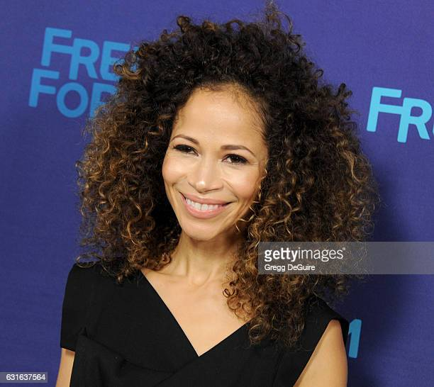 Actress Sherri Saum arrives at the 2017 Winter TCA Tour Disney/ABC at the Langham Hotel on January 10 2017 in Pasadena California