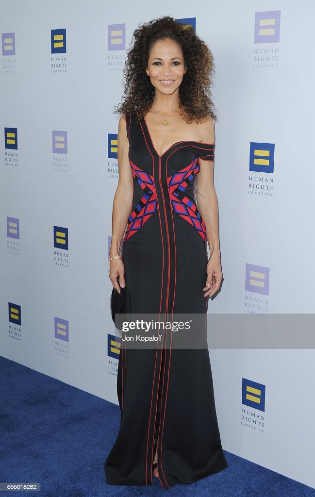 Actress Sherri Saum arrives at the Human Rights Campaign's 2017 Los Angeles Gala Dinner at JW Marriott Los Angeles at L.A. LIVE on March 18, 2017 in Los Angeles, California.