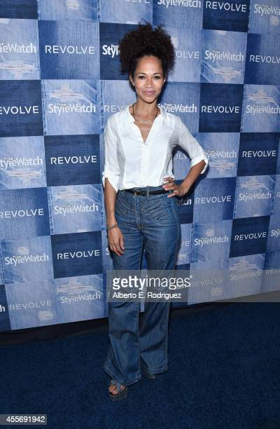 Actress Sherri Saum attend the People StyleWatch Denim Event at The Line on September 18 2014 in Los Angeles California