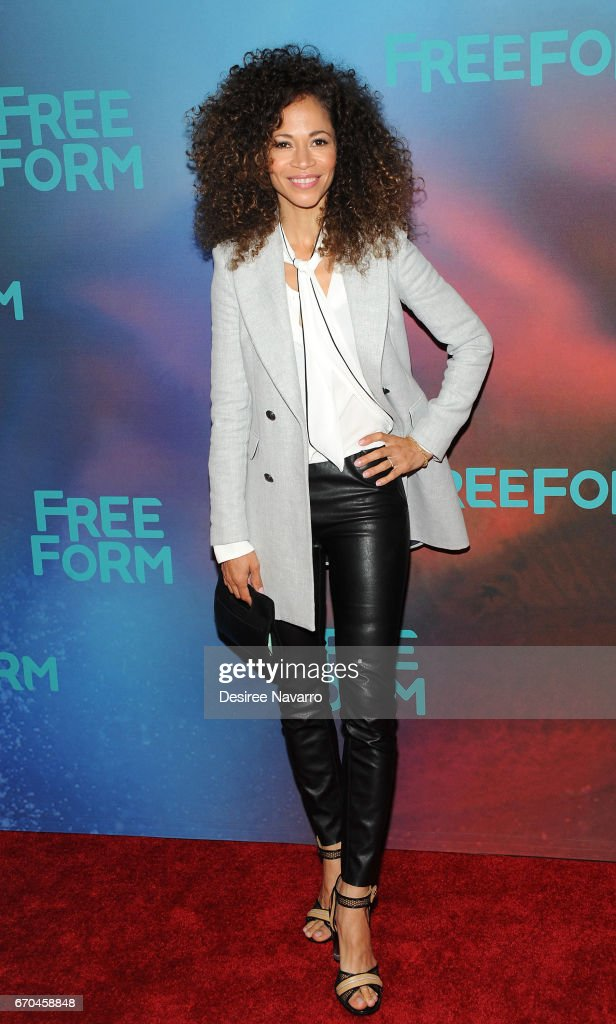 Actress Sherri Saum attends Freeform 2017 Upfront at Hudson Mercantile on April 19, 2017 in New York City.