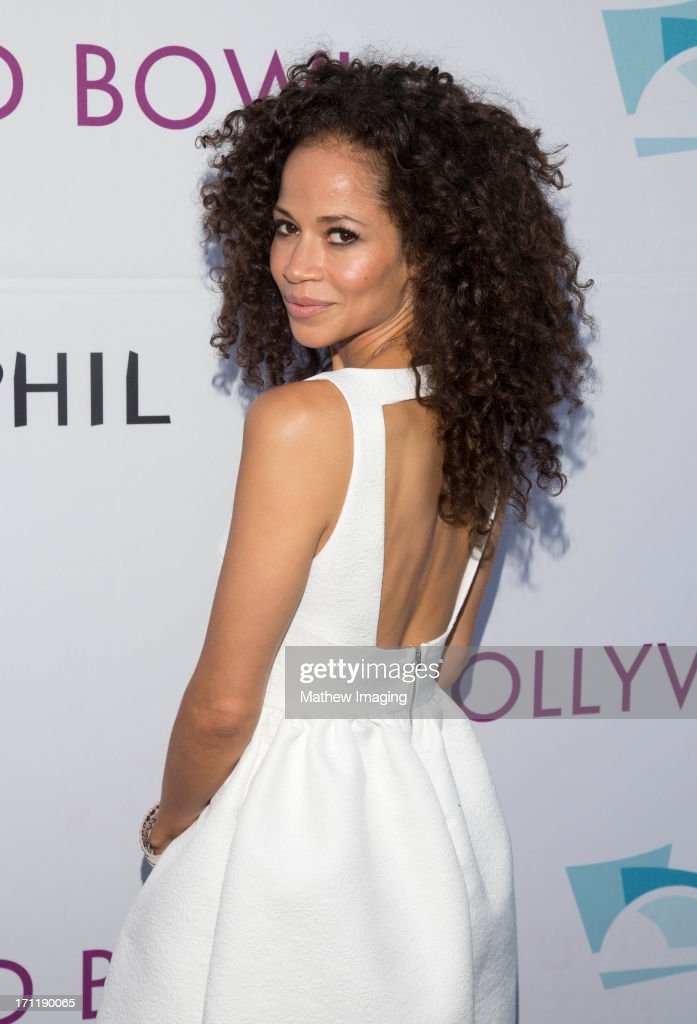 Actress <a gi-track='captionPersonalityLinkClicked' href=/galleries/search?phrase=Sherri+Saum&family=editorial&specificpeople=584078 ng-click='$event.stopPropagation()'>Sherri Saum</a> attends Hollywood Bowl Opening Night Gala - Arrivals at The Hollywood Bowl on June 22, 2013 in Los Angeles, California.