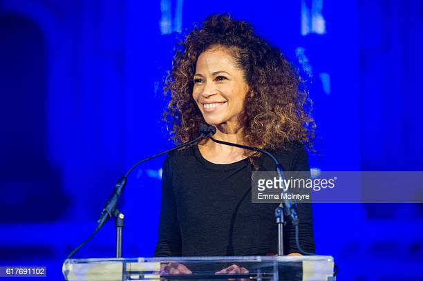 Actress Sherri Saum attends the 12th Annual Outfest Legacy Awards at Vibiana on October 23 2016 in Los Angeles California