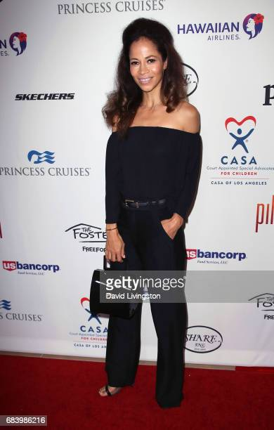 Actress Sherri Saum attends the 2017 CASA of Los Angeles Evening To Foster Dreams Gala at The Beverly Hilton Hotel on May 16 2017 in Beverly Hills...
