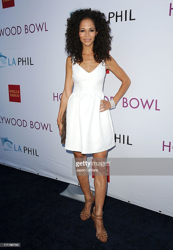 Actress Sherri Saum attends the Hollywood Bowl opening night celebration at The Hollywood Bowl on June 22, 2013 in Los Angeles, California.